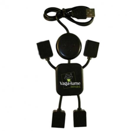 2220f2b0d Vagalume Brindes - Itens de Informática - Hub Personalizado Robô