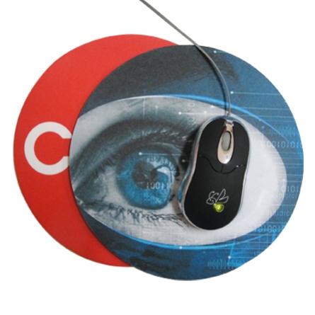 586df3da6 Vagalume Brindes - Itens de Informática - Mouse Pad Redondo